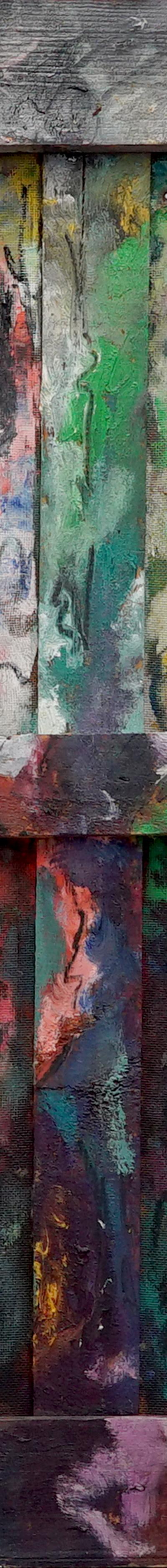 mimik 68x92 cm, oil on wood