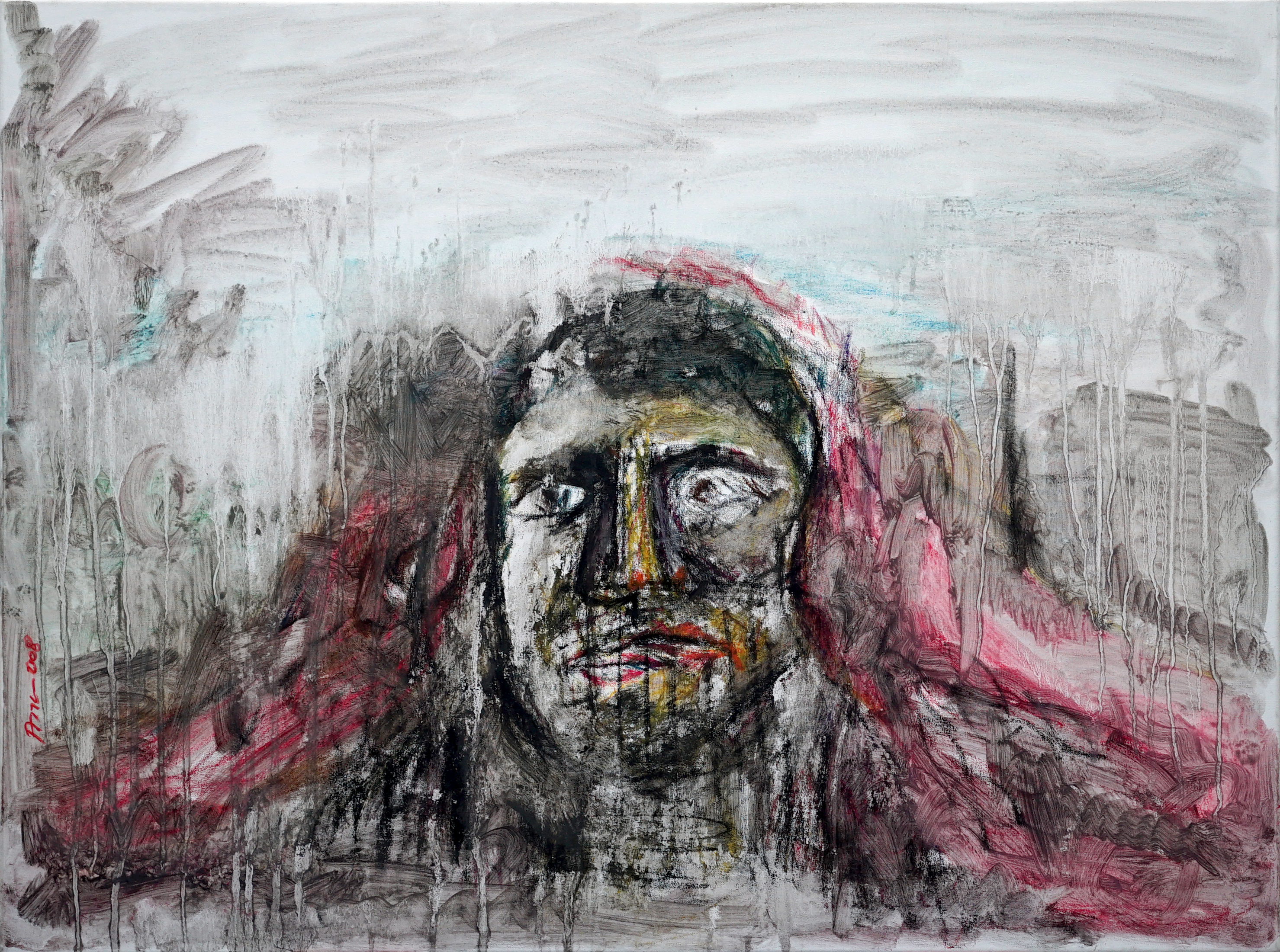 dreams 79x60 cm, pastel