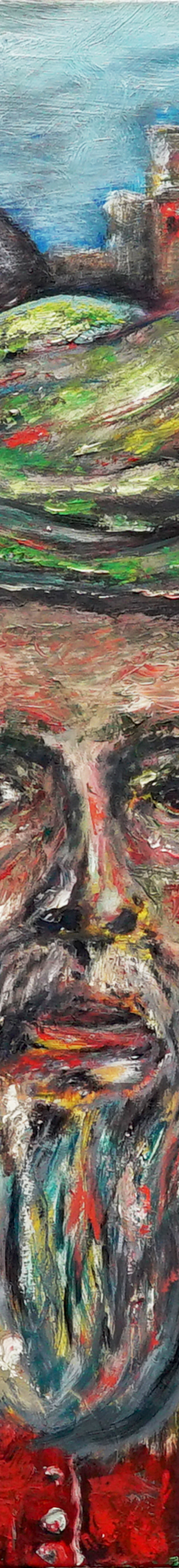 goruma 70x90 cm, oil on canvas