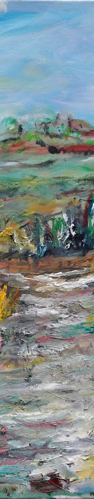 decision 60x90 cm,, oil on canvas
