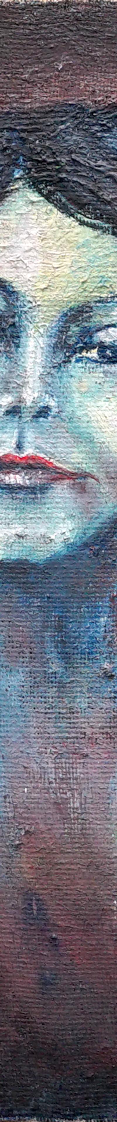 egyptian woman 40x55 cm, oil on canvas