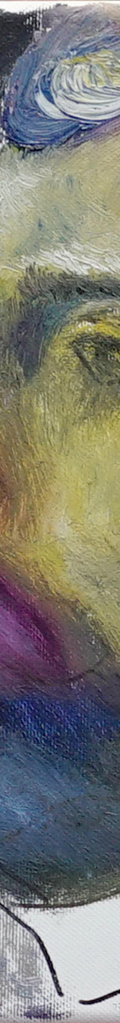 sakal 24x30 cm, oil on canvas