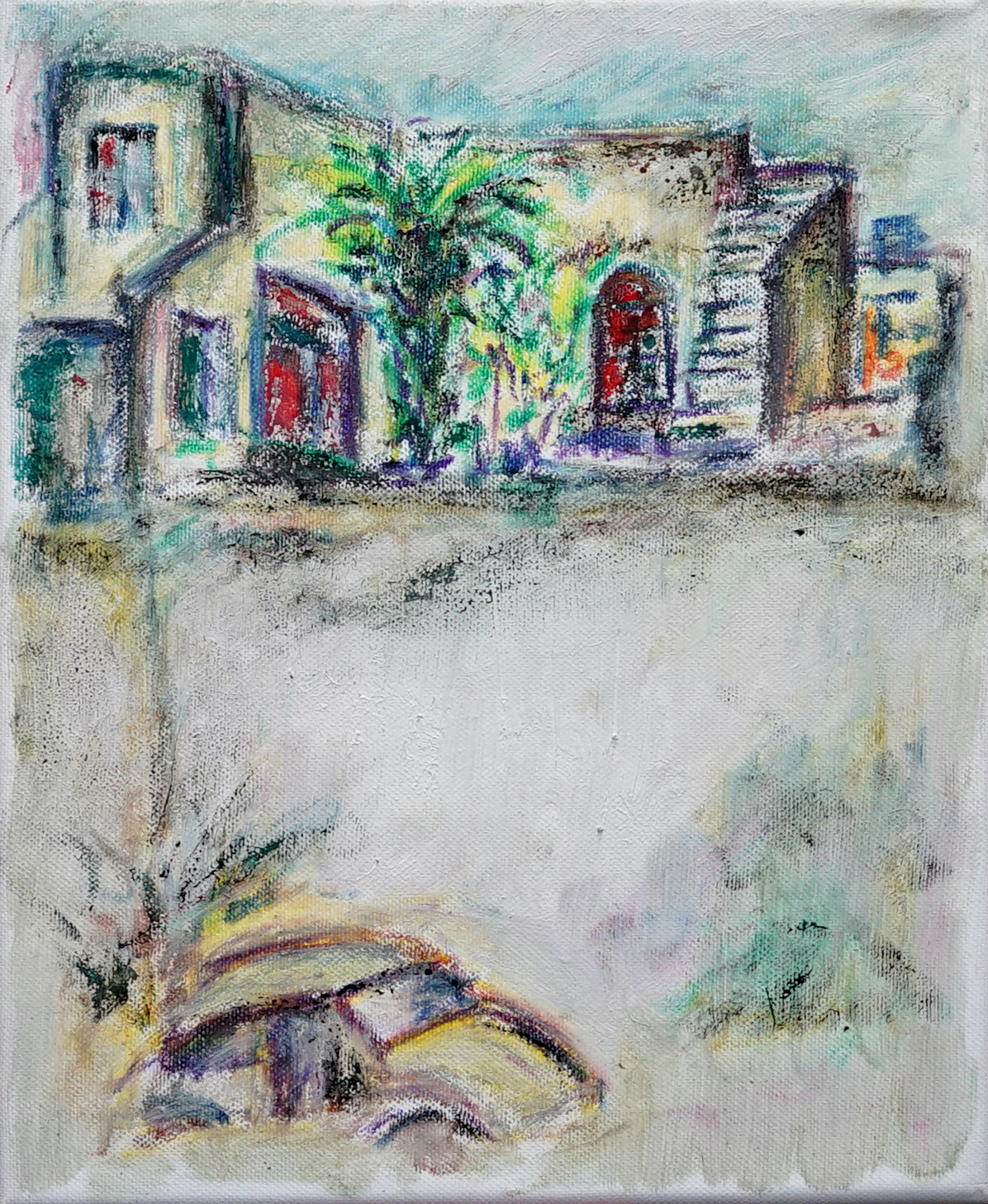 landscape 24x30cm, pastel