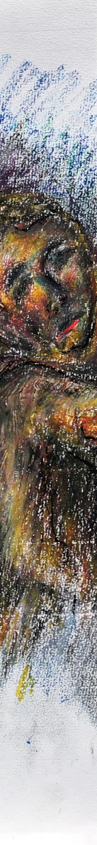 21x29,7 cm, oil on paper