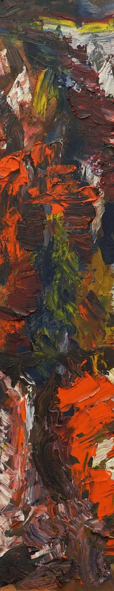 study 68x92 cm, oil on paper