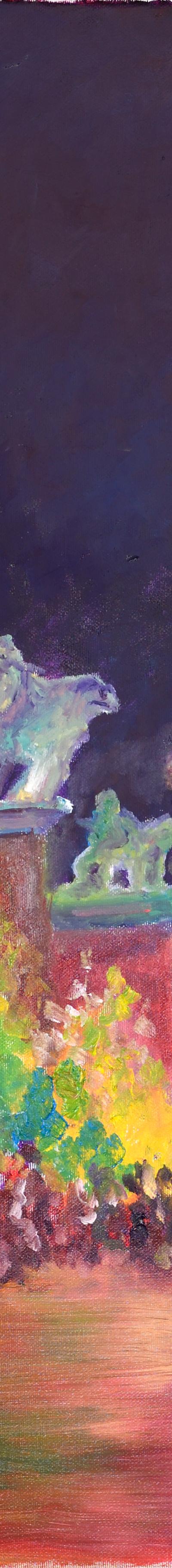 friedrichstadt 70x70 cm, oil on canvas