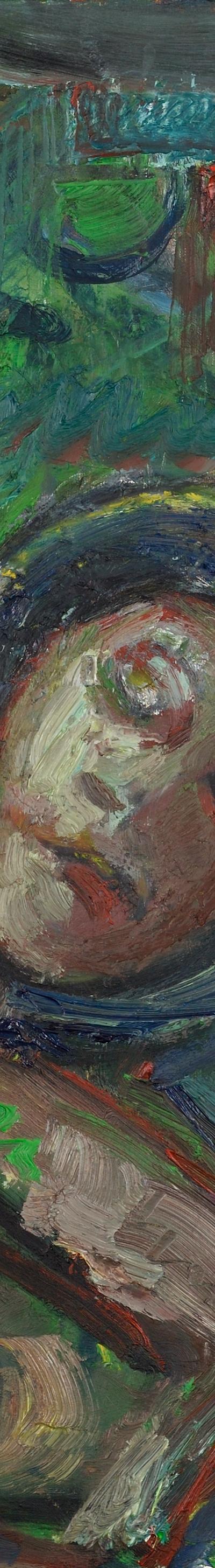 mumie 60x50 cm, oil on canvas