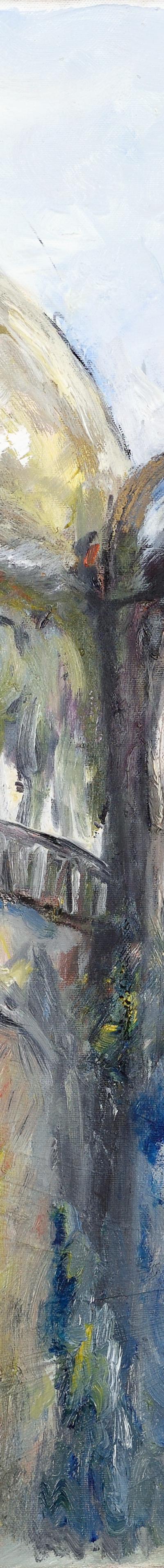 johann, panorama 70x70 cm, oil on canvas