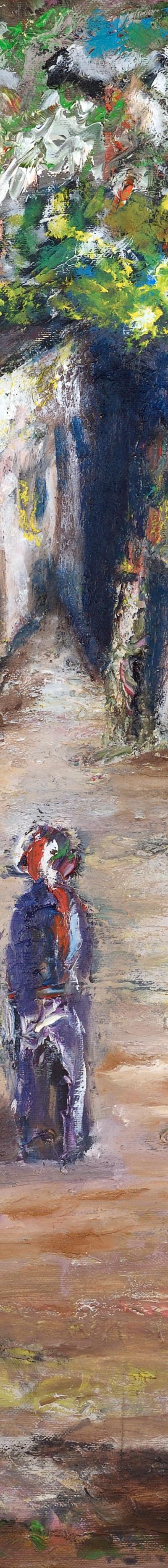 souk 70x70 cm, oil on canvas